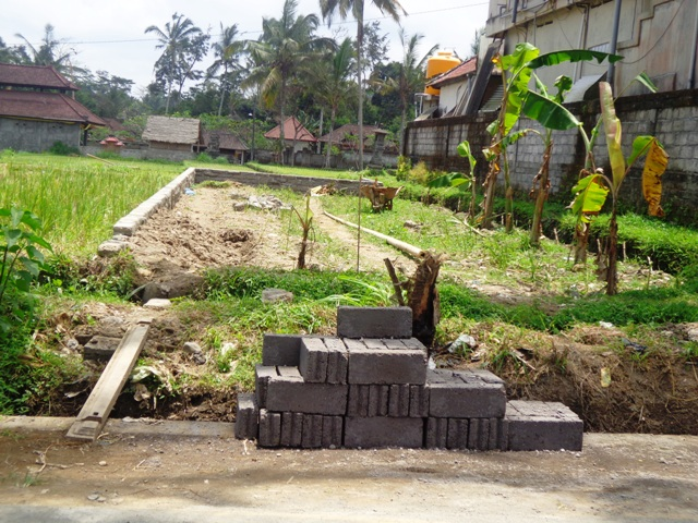 Roadside Land For sale In Ubud Bali with stunning view ( LUB119S )