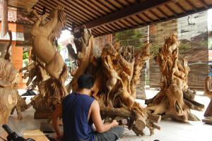 Mas village, Ubud, Gianyar, Bali