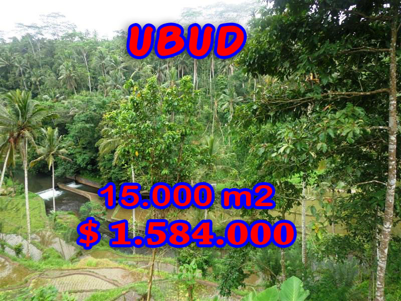 Land for sale in Ubud Bali, Astounding view in Ubud Tampak Siring – TJUB273