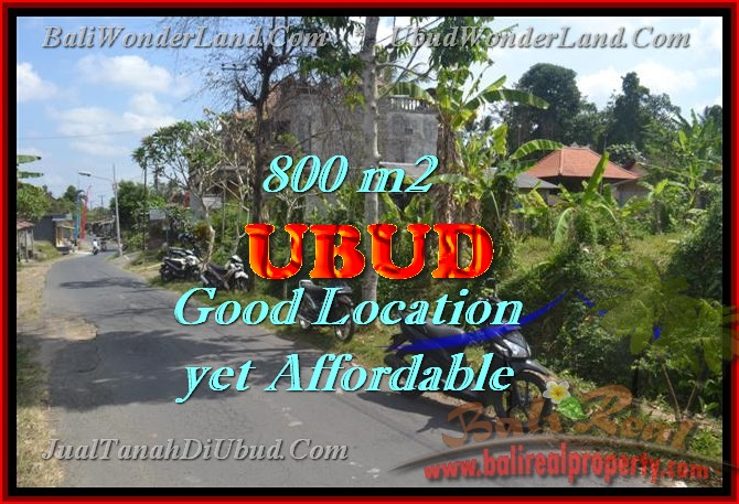 Excellent Property for sale in Bali, land for sale in Ubud Bali  – TJUB426