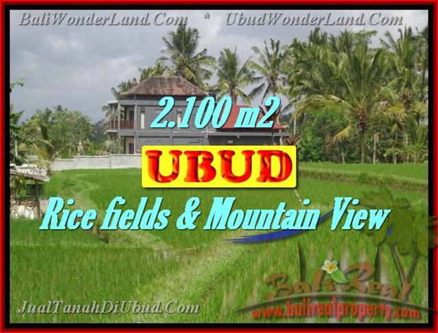 Property in Bali for sale, Fantastic view in Ubud Tegalalang – TJUB423