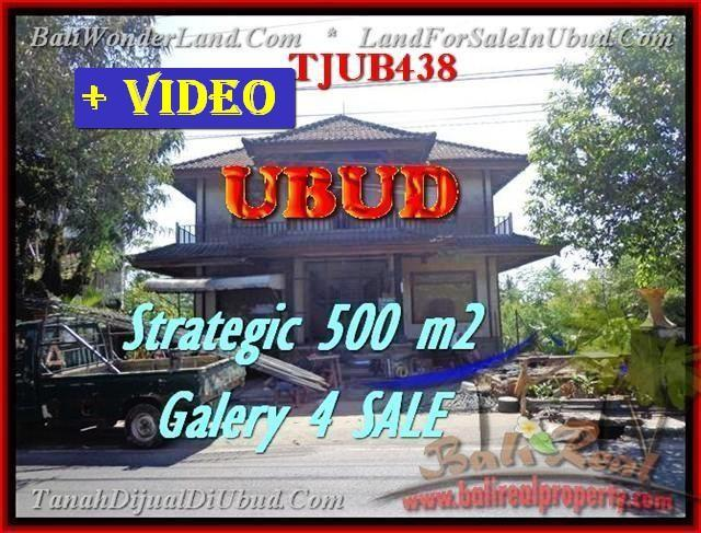 Magnificent PROPERTY 500 m2 LAND IN Sentral Ubud BALI FOR SALE TJUB438