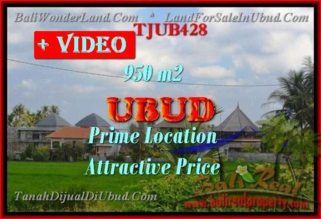 Exotic LAND FOR SALE IN UBUD BALI TJUB430
