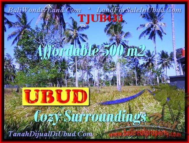 Exotic 500 m2 LAND IN UBUD FOR SALE TJUB433