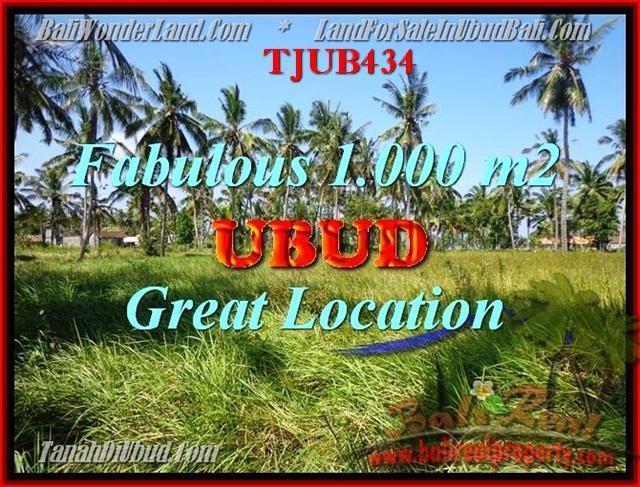 Exotic PROPERTY Sentral Ubud BALI LAND FOR SALE TJUB434