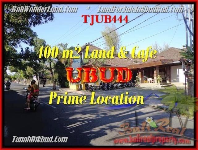 Beautiful PROPERTY 400 m2 LAND FOR SALE IN UBUD BALI TJUB444