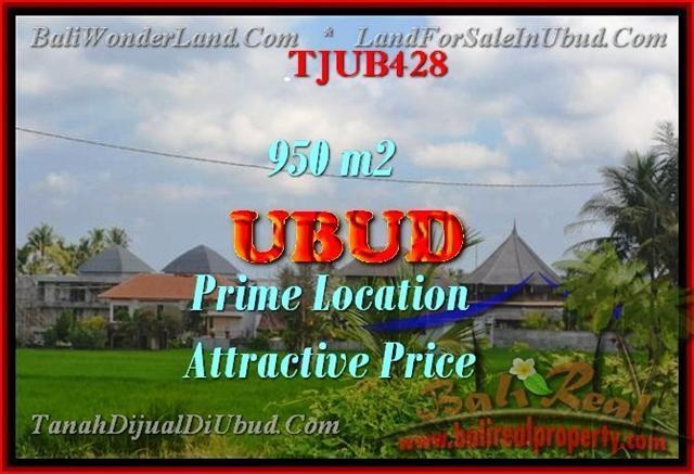 Magnificent PROPERTY LAND SALE IN Sentral Ubud BALI TJUB428