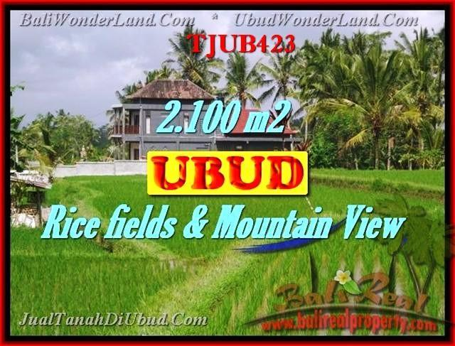 2,100 m2 LAND FOR SALE IN UBUD TJUB423