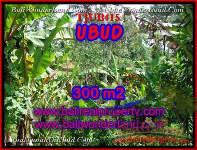 FOR SALE Beautiful 300 m2 LAND IN UBUD TJUB415