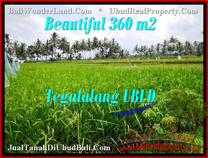 Magnificent UBUD BALI 360 m2 LAND FOR SALE TJUB482