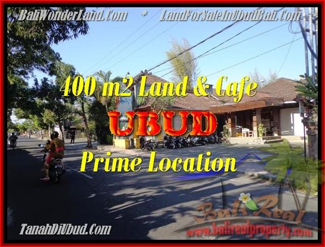 Exotic PROPERTY UBUD BALI 400 m2 LAND FOR SALE TJUB444