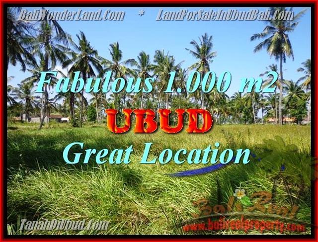 FOR SALE Beautiful LAND IN Sentral Ubud BALI TJUB434
