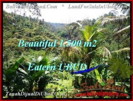 FOR SALE Beautiful PROPERTY 1,500 m2 LAND IN UBUD BALI TJUB503