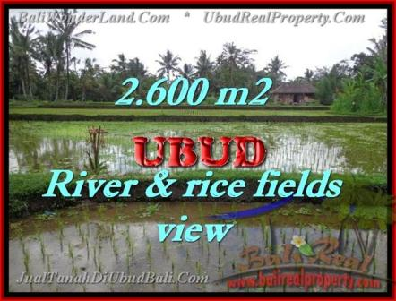 Exotic PROPERTY LAND IN UBUD FOR SALE TJUB421