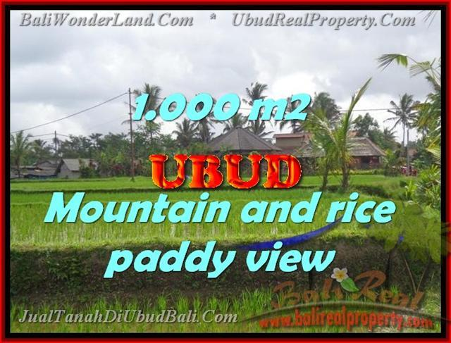 Exotic LAND SALE IN Ubud Tegalalang BALI TJUB424