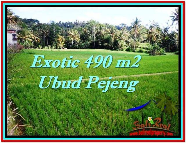Magnificent PROPERTY LAND FOR SALE IN UBUD TJUB512