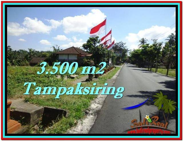 Magnificent 3,500 m2 LAND FOR SALE IN UBUD BALI TJUB517