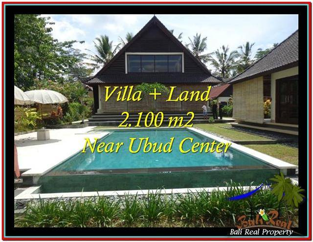 Exotic 2,190 m2 LAND FOR SALE IN UBUD BALI TJUB530