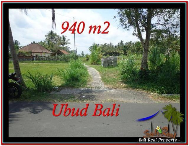 Magnificent 940 m2 LAND IN UBUD BALI FOR SALE TJUB531