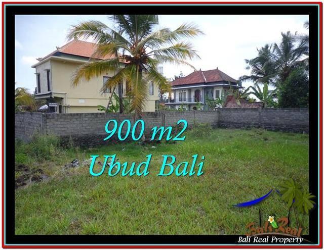 Magnificent 900 m2 LAND IN UBUD BALI FOR SALE TJUB532