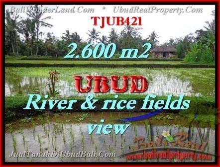 FOR SALE Beautiful PROPERTY LAND IN UBUD TJUB421