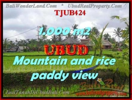 Exotic PROPERTY UBUD LAND FOR SALE TJUB424