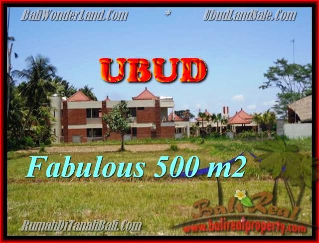 FOR SALE Magnificent LAND IN Sentral Ubud BALI TJUB435