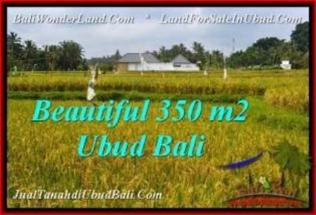 Magnificent 350 m2 LAND SALE IN UBUD BALI TJUB540