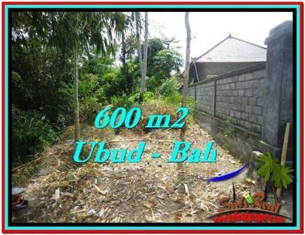 Magnificent 600 m2 LAND FOR SALE IN Sentral Ubud TJUB523
