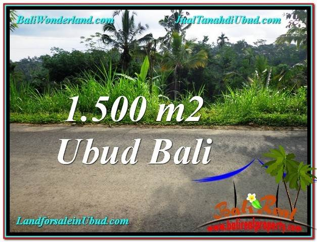 Exotic PROPERTY LAND IN UBUD FOR SALE TJUB556