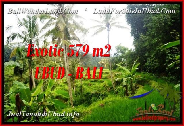 Affordable UBUD BALI 579 m2 LAND FOR SALE TJUB538
