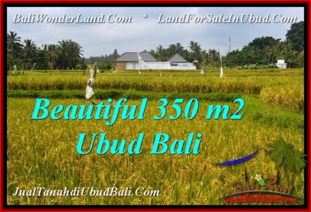 FOR SALE Exotic 350 m2 LAND IN UBUD BALI TJUB540