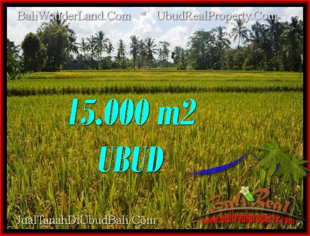 Affordable PROPERTY 15,000 m2 LAND SALE IN Ubud Tegalalang TJUB551
