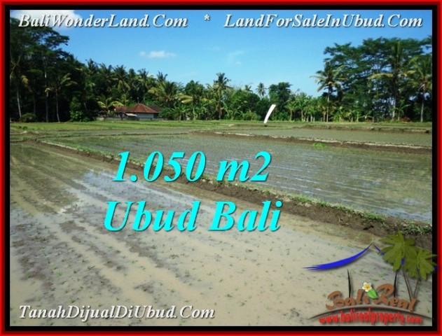 FOR SALE Beautiful PROPERTY 1,050 m2 LAND IN Sentral Ubud TJUB544