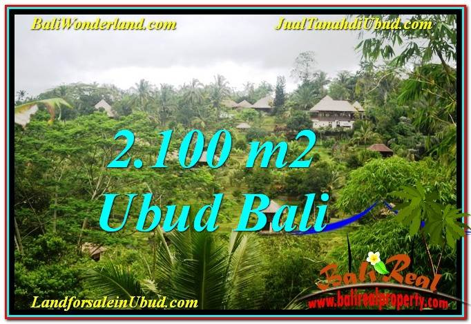 Beautiful 2,100 m2 LAND IN UBUD BALI FOR SALE TJUB572