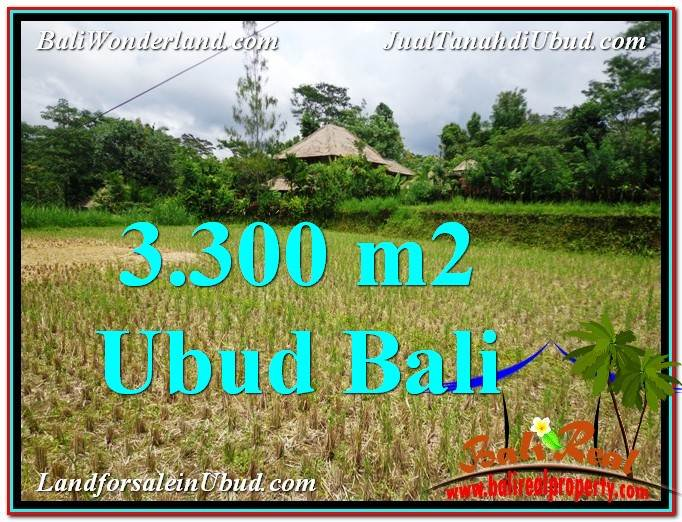 Beautiful PROPERTY 3,300 m2 LAND IN Ubud Tampak Siring FOR SALE TJUB562