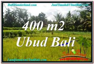 Affordable PROPERTY Ubud Pejeng 400 m2 LAND FOR SALE TJUB627