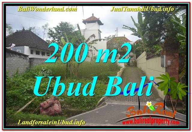 Exotic PROPERTY 200 m2 LAND FOR SALE IN Sentral / Ubud Center TJUB632