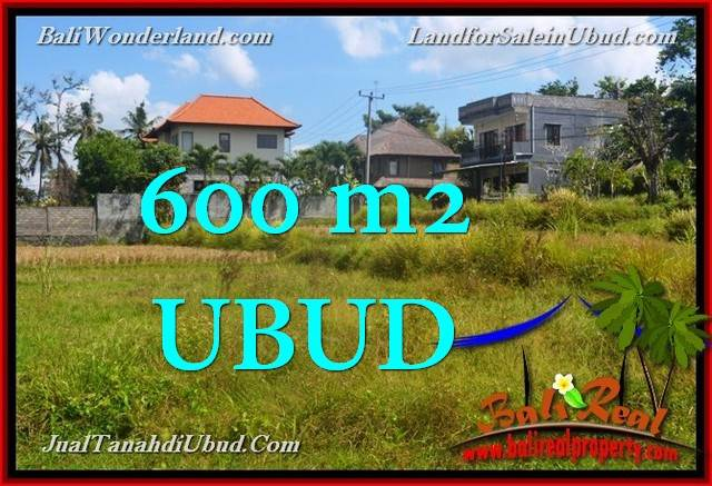Affordable 600 m2 LAND SALE IN UBUD TJUB664