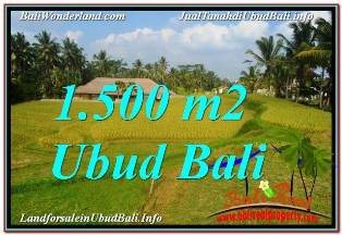Magnificent PROPERTY UBUD TEGALALANG 1,500 m2 LAND FOR SALE TJUB668
