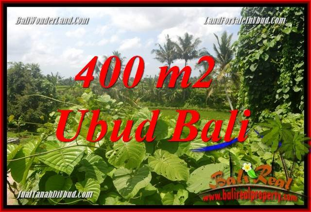 Exotic Property 400 m2 Land for sale in Sentral Ubud Bali TJUB684