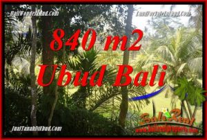 FOR sale Affordable 840 m2 Land in Ubud Bali TJUB685
