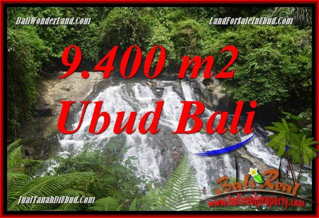 FOR sale Beautiful Property 9,400 m2 Land in Ubud Gianyar TJUB686