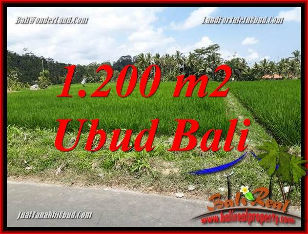 Magnificent Property Ubud Tampak Siring 1,200 m2 Land for sale TJUB694