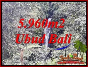 Exotic Property Land in Ubud Bali for sale TJUB696