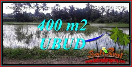 Beautiful 400 m2 Land in Sentral Ubud for sale TJUB721