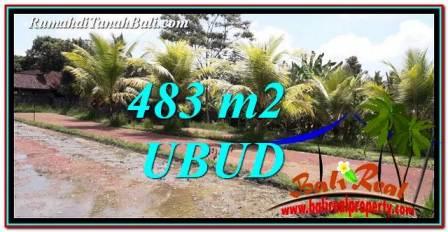 Beautiful LAND FOR SALE IN UBUD TJUB752