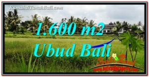 UBUD BALI 1,600 m2 LAND FOR SALE TJUB756