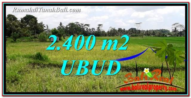 FOR SALE Exotic 2,400 m2 LAND IN UBUD BALI TJUB757