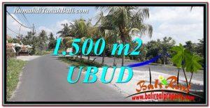 Beautiful Ubud Gianyar 2,400 m2 LAND FOR SALE TJUB758